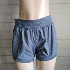 Athleta Grey Stellar Athletic Running Shorts